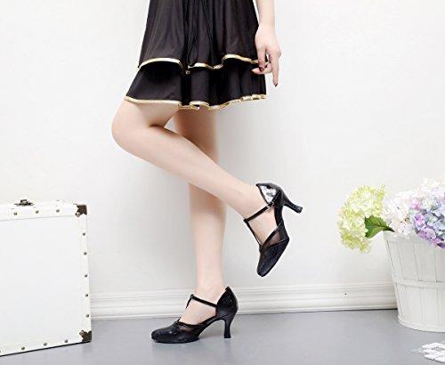 Minitoo , Danse de Salon femme Black-7.5cm Heel