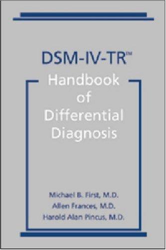 dsm-iv-tr-handbook-of-differential-diagnosis