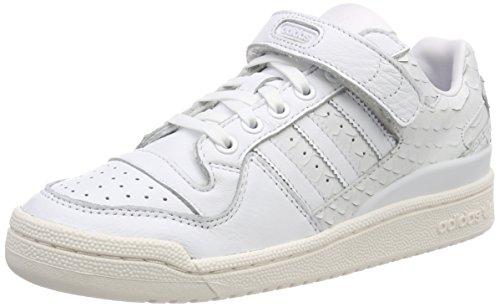 info for 1ef31 92a5c adidas Originals Forum Low, Baskets Femme, Blanc (FtwblaFtwblaBlatiz 000