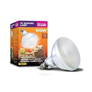 Arcadia D3 UV Basking Lampe 100W E27