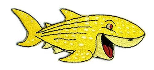 Cartoon Hippie Retro Biker Jacket T-shirt Vest Patch Sew Iron on gesticktes Badge Custom (Fisch Kostüm Diy)