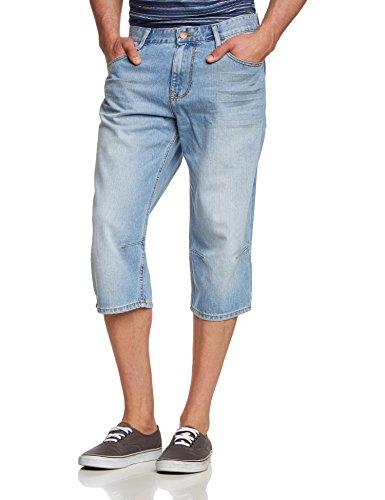 Cross Jeans Herren Shorts 557 Blau (faded out 008)