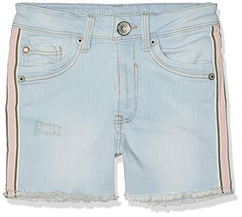 Garcia Kids Mädchen C92512 Shorts, Blau (Bleached 6651), Herstellergröße: 140