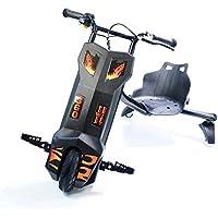 Bibee Power Drift Rider Tricycle Electrique Enfants Non, Noir