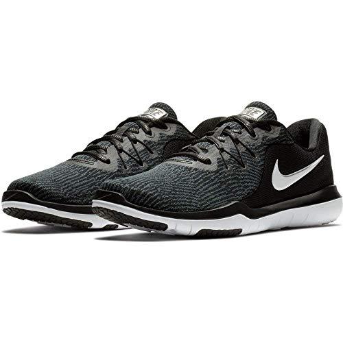 Nike - Flex Supreme Tr 6 Damen, Schwarz (Black/White-Anthracite), 7 M EU -