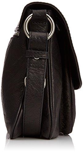 Osprey  Large Monroe Shrunken Grain, sac bandoulière femme Noir - noir