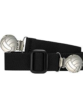 Playshoes Jungen Elastik-Gürtel Fußball-Clip Uni