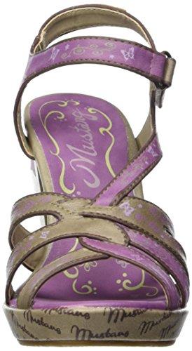 Erde Lila Mustang Della Multicolore Donna 1186804 Sandali 856 Pr00WqwvRY
