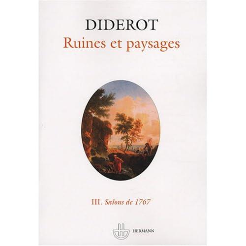 Salons : Tome 3, Ruines et paysages - Salons de 1767