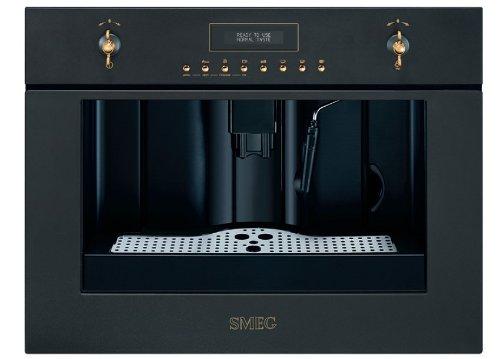 Smeg cm845a-9–Espressomaschine (eingebaut, Machine, Kaffeebohnen, gemahlener Kaffee, anthrazit, LCD, 50/60Hz)