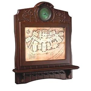 Noble Collection nn2435-El Señor de los Anillos Llavero Mural Mapa de casa Baggins