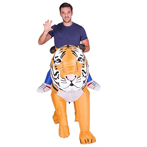 Imagen de hinchable adulto disfraz tigre  alternativa