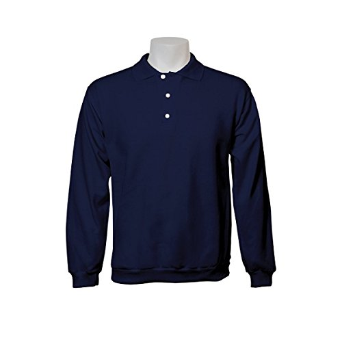 Jumar Sport - Sudadera Básica Polo Azul Marino