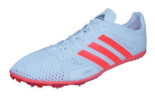 adidas Adizero Ambition 3 Clavos de Carrera Para Hombres/Zapatillas de deporte-White-46