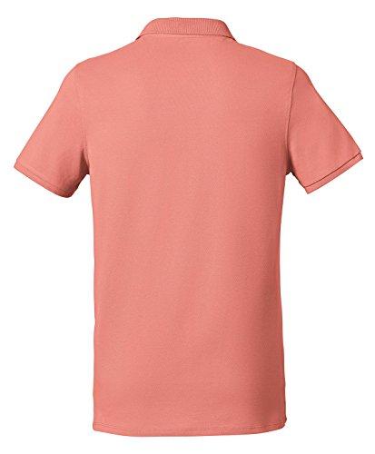 Herren Poloshirt aus Biobaumwolle mit 3 sichtbaren Knöpfen, Poloshirt Herren aus Baumwolle (Bio), Polo shirt Bio, Polohemd Bio, Bio Polo, Einführungspreis Flamingo
