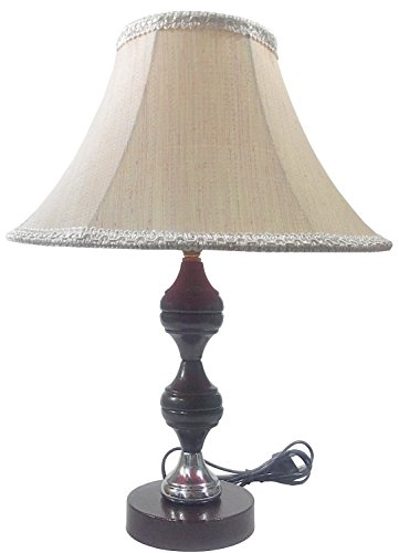 RDC Brown Silver Stand Table Lamp with 10