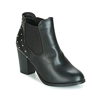 moony mood JURDEAN Ankle Boots/Boots Women Black Ankle Boots 6
