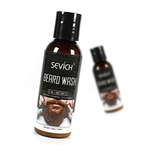 Weixinbuy Beard Wash Cream Extracto plantas naturales