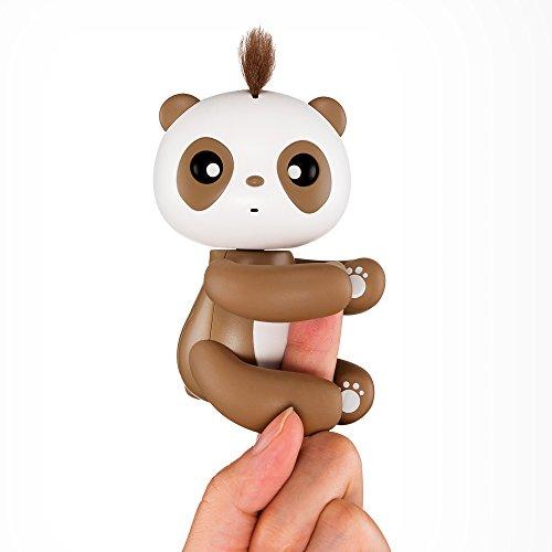 Moonvvin Interactive Finger Baby Panda Divertente e Simpatico Appeso burattino-Smart Baby Panda Pet Toy per Bambini e bambini-2018 miglior Regalo di Nat