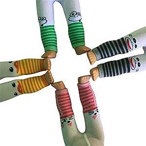 The New York Doll Collection Conjunto de 4 Estampado Animal Leggings para muñecas de 45 cm (43221-3138)