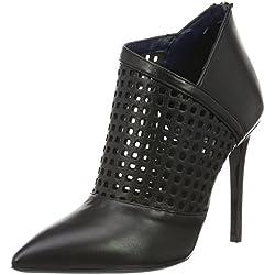 Pollini Damen Shoes Pumps, SA1007AC02TX0, Schwarz (Black 000), Gr. 37 EU