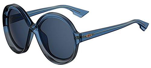 Dior Damen DIORBIANCA KU PJP Sonnenbrille, Blau (Bluette Blue), 58