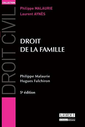 Droit de la famille, 5ème Ed.