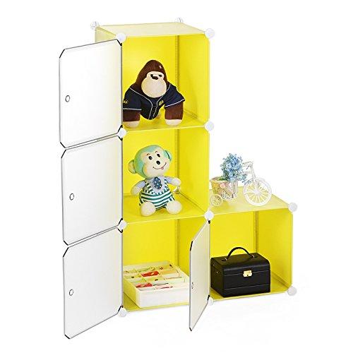 Songmics estanter a armario ropero aparador o zapatero for Zapatero para bano
