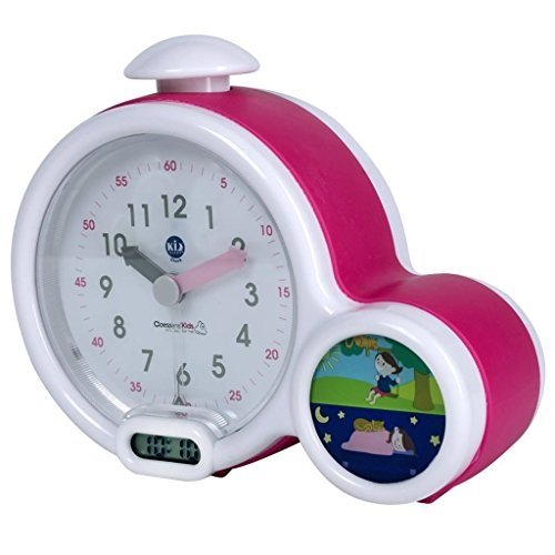 Claessens' Kid -KS0011- Mon premier réveil Kid Sleep Clock rose