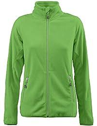 982b047bf923 Printer Sportliche Damen Fleece-Jacke  Twohands Ladies