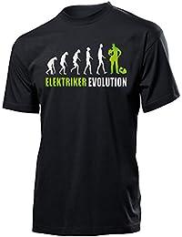 ELEKTRIKER EVOLUTION - Cooles Fun T-Shirt Herren S-XXL