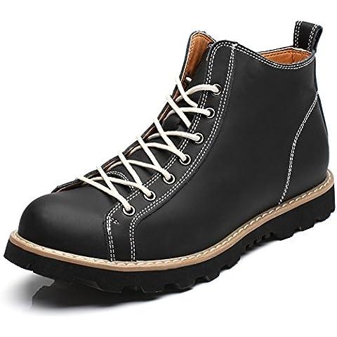 Stivali da pioggia/Stivaletti uomo/Vera pelle uomo Stivali/Scarpe di alta moda/Utensileria