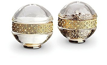 L'Objet Spice Jewels Pave Band Salt & Pepper Set, Gold by L'Objet