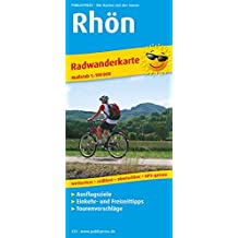 Rhön: Radwanderkarte mit Ausflugszielen, Einkehr- & Freizeittipps, wetterfest, reissfest, abwischbar, GPS-genau. 1:100000 (Radkarte / RK)