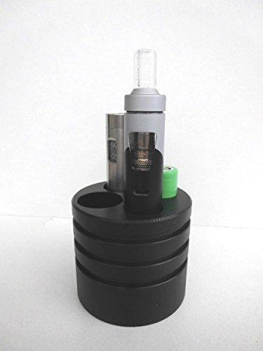 Autohalter für e-Zigaretten - Autohalter dampfen 2 mal Akkuträger Aio oder iJust3 & Akkus - E-Zigarettenhalter