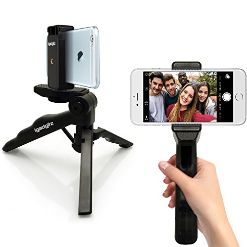 igadgitz-2-in-1-pistol-grip-stabilizer-and-mini-lightweight-table-top-stand-tripod-with-phone-bracke