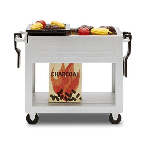 Preisvergleich Produktbild Lundby 60.9049.00 - Barbeque Set,  Minipuppen mit Zubehör