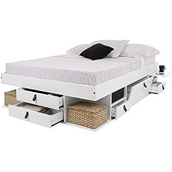 lit multifonction bali 160x200 caramel avec beaucoup d 39 espace de rangement et des tiroirs le. Black Bedroom Furniture Sets. Home Design Ideas