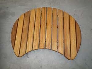 Solid Oak Wooden Slatted Bathroom Shower Duckboard