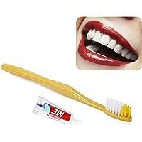 Cepillo de dientes desechable cepillo de dientes Traje de lavado Calidad  afilada cepillo suave viaje Equipo 4c889369f320