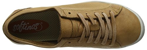 Softinos Damen Isla Washed Sneaker Braun (marrone - 553)