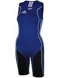 Adidas W8 Lifter Suit ClimaLite Stretch Running Sprintsuit Blau Gr. XXL