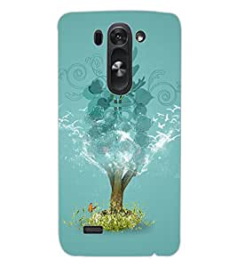 ColourCraft Creative Image Design Back Case Cover for LG G3 S