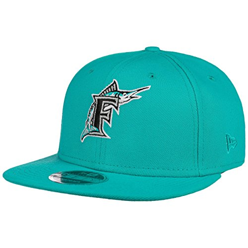 New Era - Coast to Coast - Florida Marlins - MLB Baseball - Snapback Onesize Cap Kappe - Blau - Fan Artikel - US Sports - Miami (ML)
