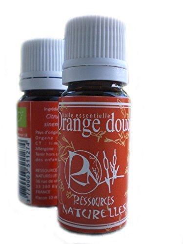 Ressources Naturelles - Huile Essentielle Orange Douce Bio 10 Ml