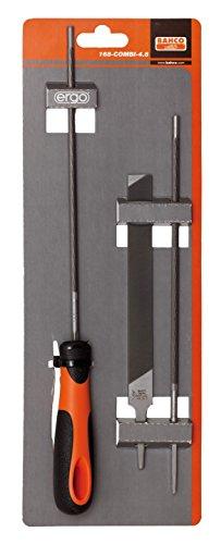 Bahco Rundfeile P/CAD Motorräder Kühlschrank 168-combi-4.0x10Stück