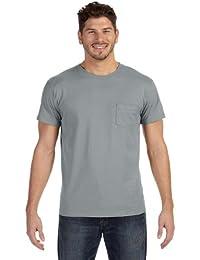 Hanes 498P 100% Ringspun Cotton Nano T-Shirt