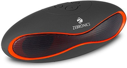 Zebronics Infinity Smart ZEB-BT017UCF Bluetooth Speaker (Black)