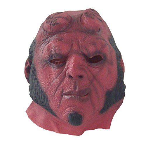 nihiug Hölle Baron Halloween Horror Cap Cos Held Ghost Superman Chamber Escape Haunted Haus Requisiten Ein Albtraum Auf Elm Street Boo Banner Ghost,A