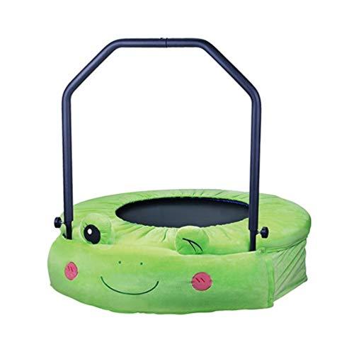 Bengchuang Kartonform Kindertrampolin, Indoor Fitness Training Aerobic Springen Bett Abnehmen Familie Garten Spielzeug (Color : 38in) -